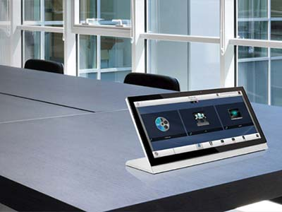AMX touchpanel control system