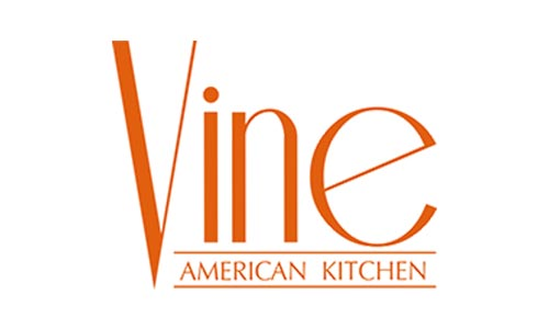 Vine American Kitchen Logo Audio Video System